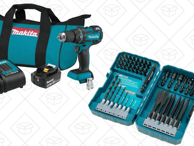 Buy a Makita Drill, Get a High-End Bit Set For Free
