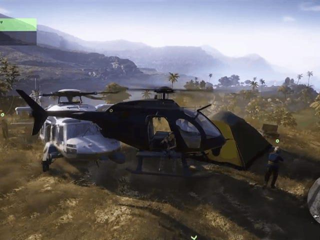 <i>Wildlands</i> Helicopters Tila Lamang ba Anuman ang Nais Nila