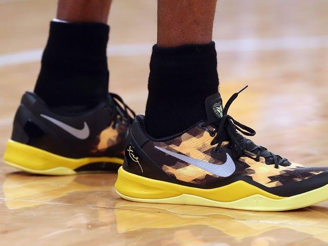 Kobe Bryant er noget ansvarlig for den laveste basketball sneaker trend