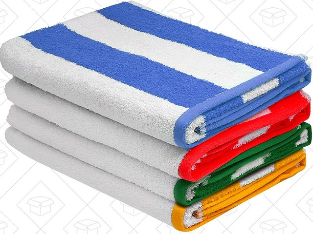 Prepare For Summer With $30 Beach Towels, Today Only