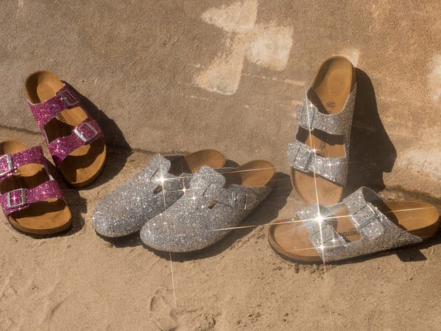 First They Were Furry, Now Birkenstock Goes Glittery