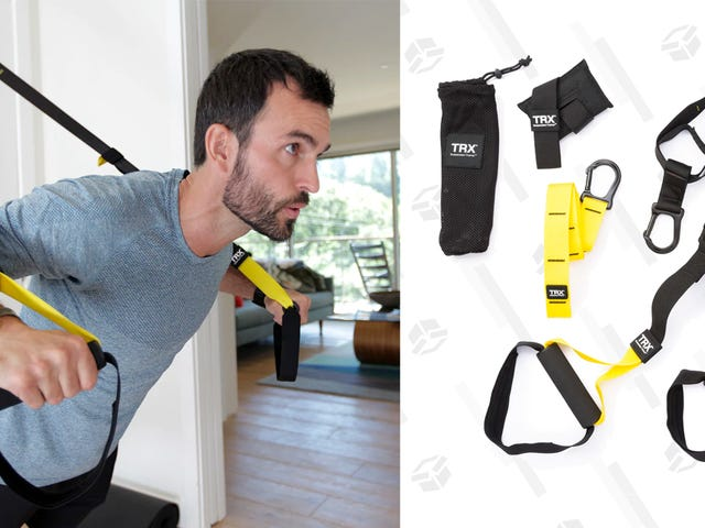 Turn Any Room Into a Home Gym With This TRX Suspension Kit Deal