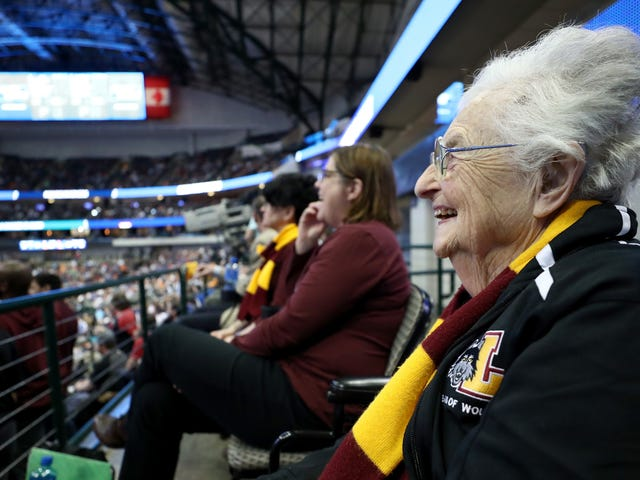 We Like This Old Nun From Loyola-Chicago