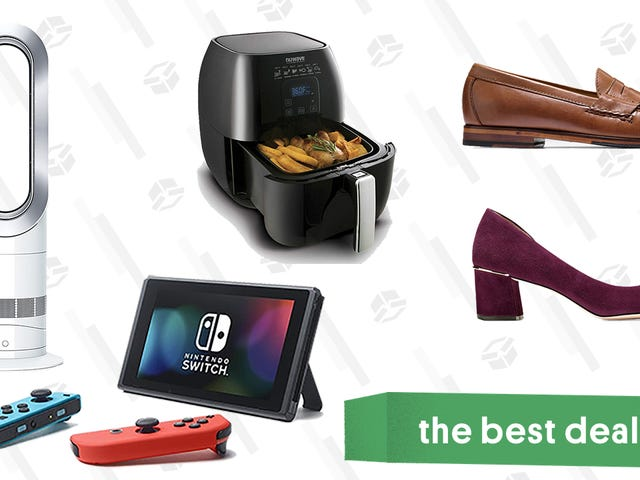 Monday's Best Deals: Nintendo Switch, Air Fryers, Apple Watch, and Bath Sheets