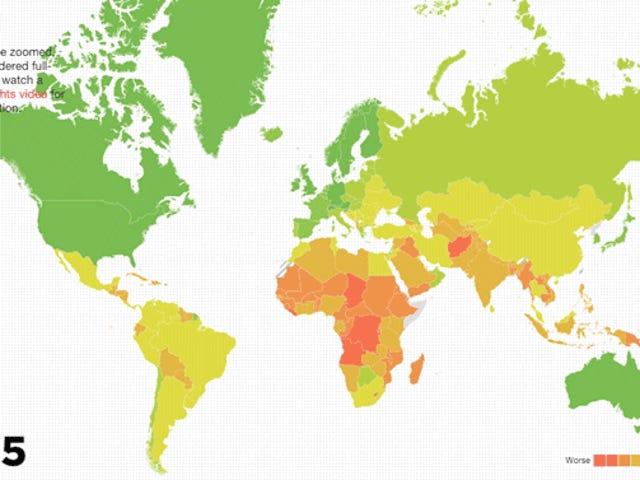 Negara-negara Yang Paling Mungkin Dipadam Disebabkan Bencana Masa Depan?