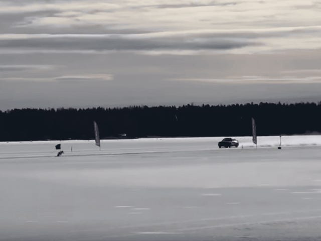 Watch This BMW E30 Become the Fastest Car on Ice