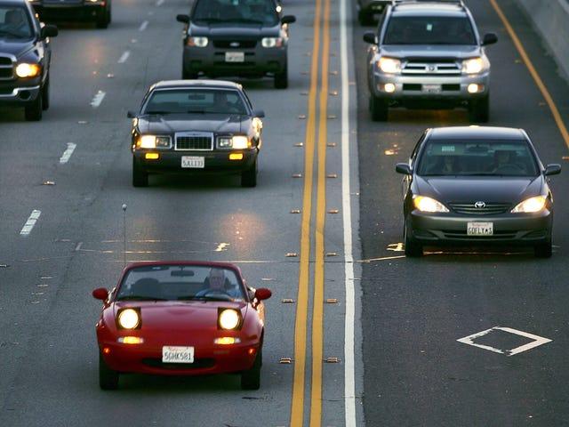 Carpool Lane'i Kullanmama İzin Ver