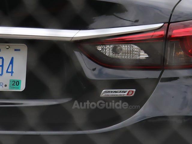 Mazda 6... Diesel?