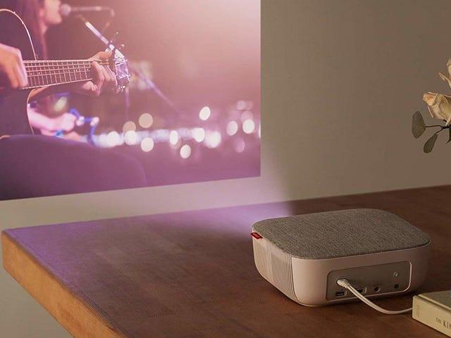 Ubah Dinding Apa Saja Menjadi TV Dengan Proyektor Anker senilai $ 100