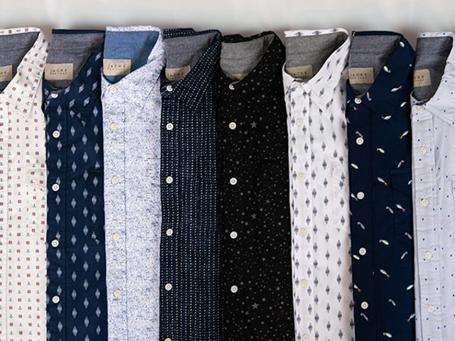 Take 60% Off Lightweight Short Sleeve Button Downs From Jachs (From $23)