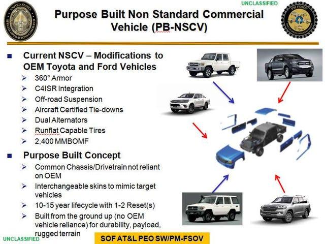 SOCOM's build-your-own Overlander proposal...