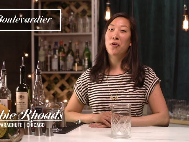 How to make the classic Boulevardier cocktail