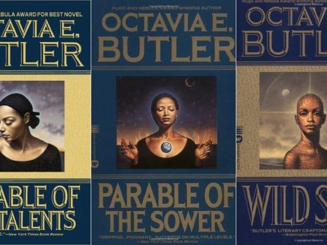 Proszę przeczytać tę ustaloną notatkę od Oktawii Butler do siebie / wszechświata