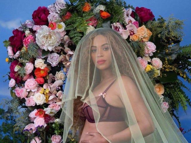 Beyonce annoncerer graviditet med den smukkeste Sears Portrait Studio Picture Ever