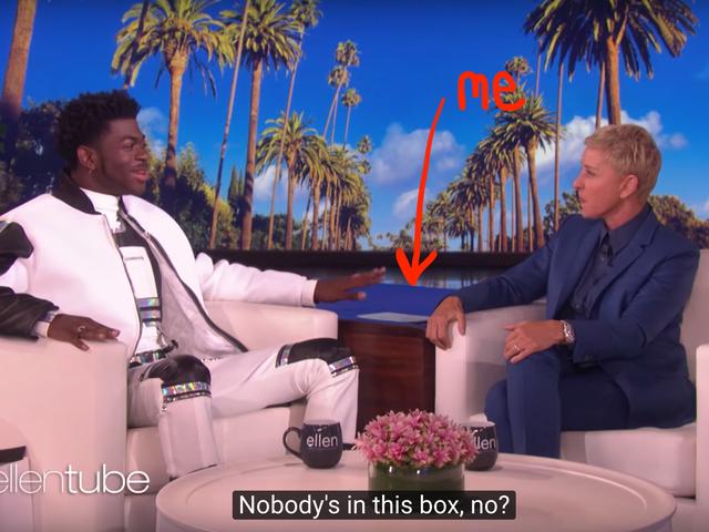 Mettez-moi dans la boîte, Ellen