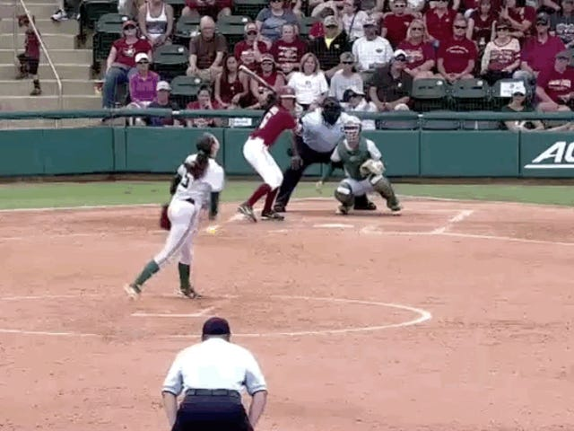 Florida State Becomes First Softball Team In NCAA Tournament History To Hit Four Consecutive Dingers