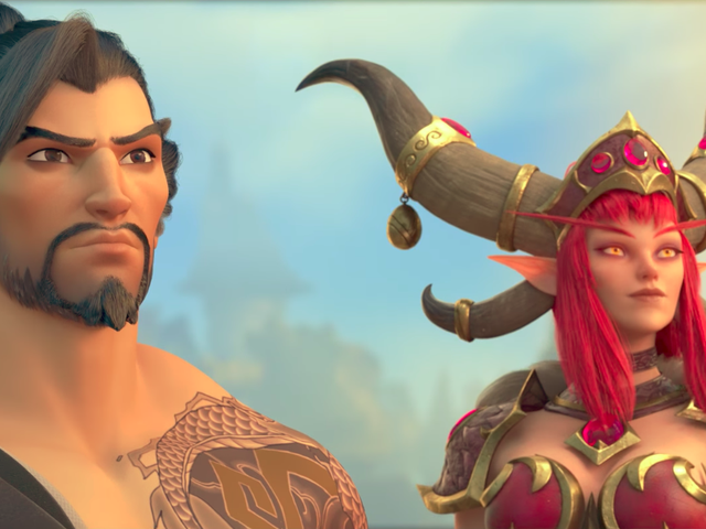 Early Impressions Of Hanzo And Alexstrasza's Heroes Of The Storm Debut