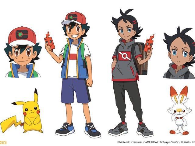 Pokémon Anime Stars Νέος πρωταγωνιστής και τέφρα