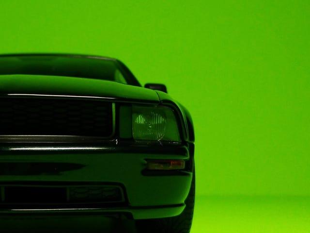 Good-Looking Bullitt Mustang, by AUTOart