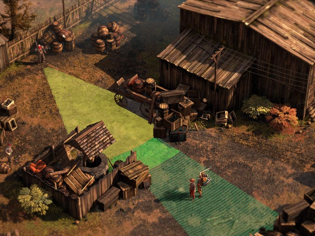 The Shadow Tactics Team Are Making A Western