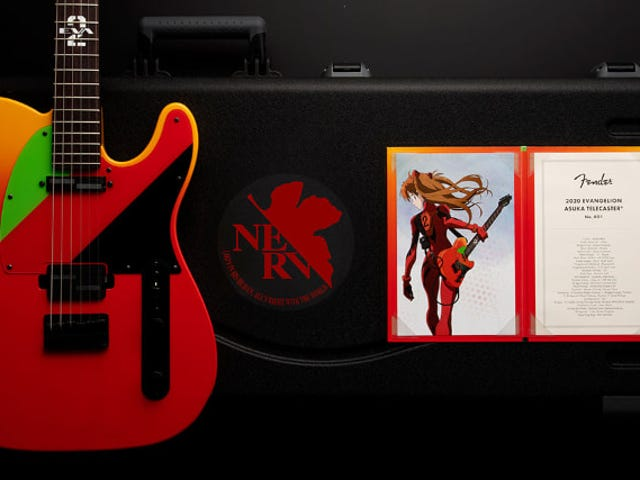Fender macht eine Evangelion-Gitarre