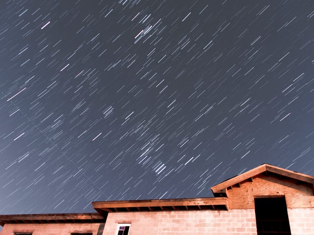 Some More Stars And A Meteor