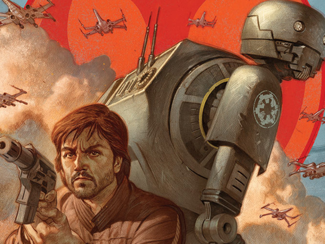 <i>Rogue One</i> Prequel Comic to Show How Cassian and K-2SO First Met