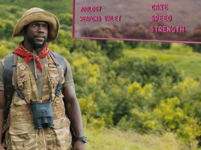 Watch Kevin Hart's Death by Cake in the New Jumanji: Welcome to the Jungle Trailer