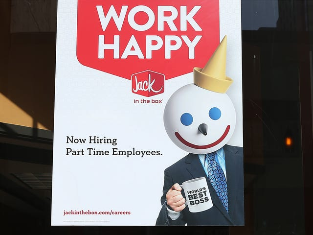 Jack in the Box CEO: If Wages Rise 'It Just Makes Sense' to Replace My Employees With Robots