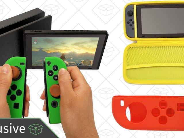 Dress Up Your Nintendo Switch For 40% Off [Exclusive]