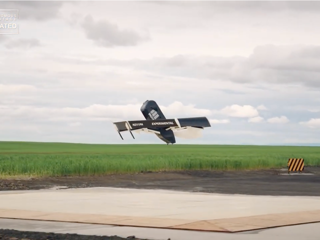 Amazon Considers Adding 'Surveillance as a Service' to Delivery Drones Because Maybe Every Product Should Monitor Us