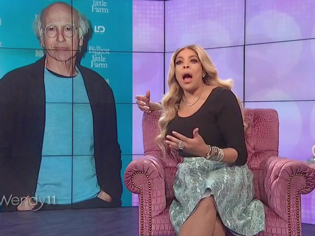 Wendy Williams Lusts for Larry David (And Is Sorry for Discussing Joaquin Phoenix's Cleft Palate)