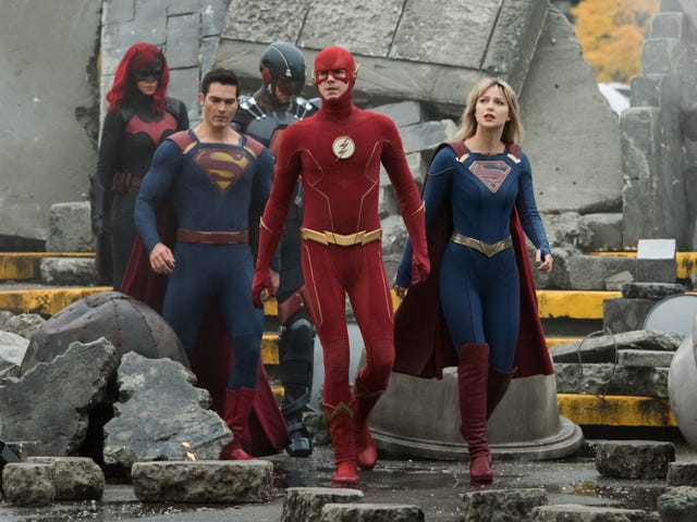 The CW blew up its DC multiverse, and it couldn't have happened at a better time