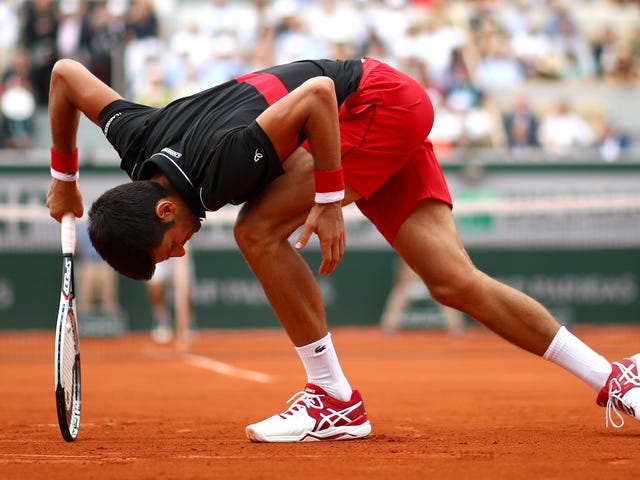 Novak Djokovic Went Out Swinging Against A Relentless No-Name