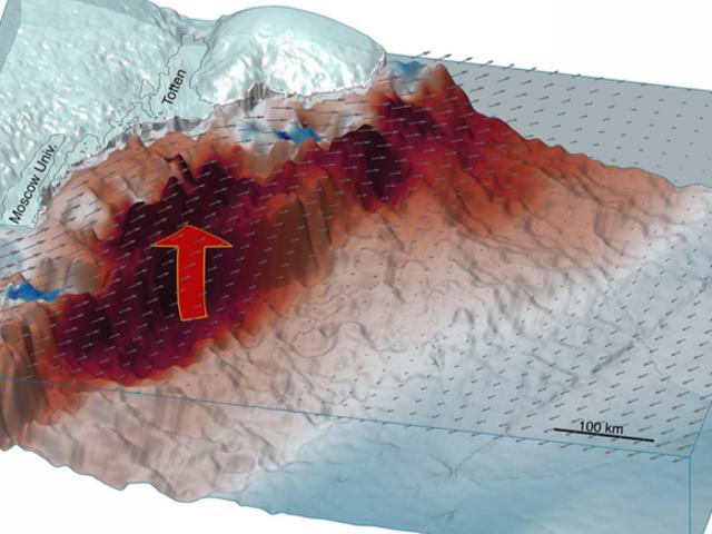 Forskare hittade bara en annan sårbarhet i Antarktis illa Armor