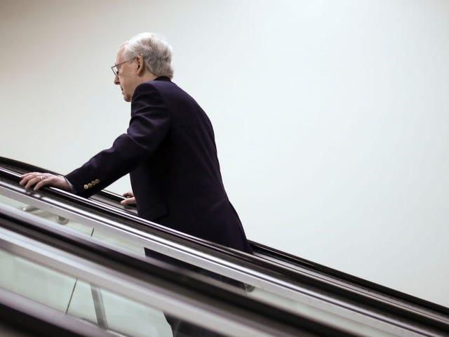 Mitch McConnell er forberedt på at skubbe forsøgsregler for impeachment fremad uden demokrater
