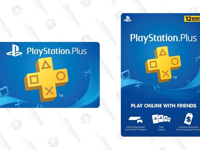 Dapatkan 12 Bulan PlayStation Plus dengan harga $ 32