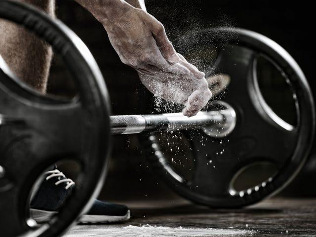 Cách sử dụng phấn tại phòng tập thể dục không cho phép phấn