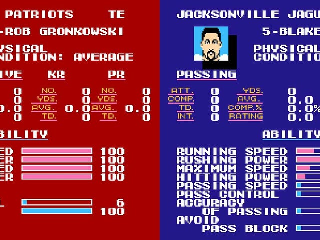 It's Time To Simulate The AFC Championship Game In Tecmo Super Bowl