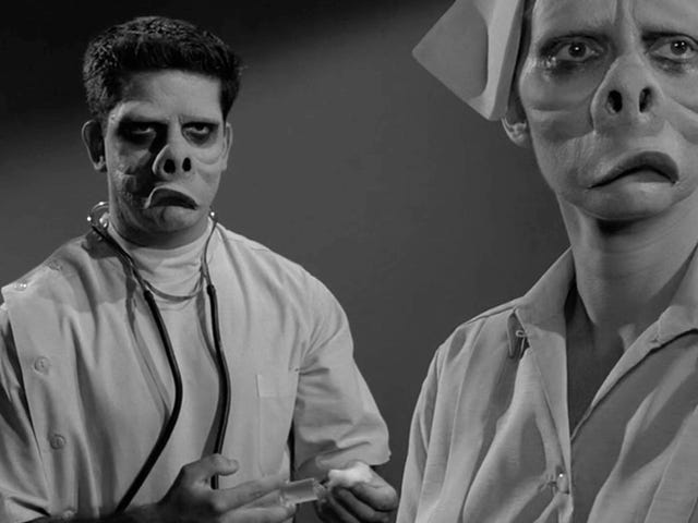 Twilight Zone Mask From 'The Eye of the Beholder' Goes Up For Auction