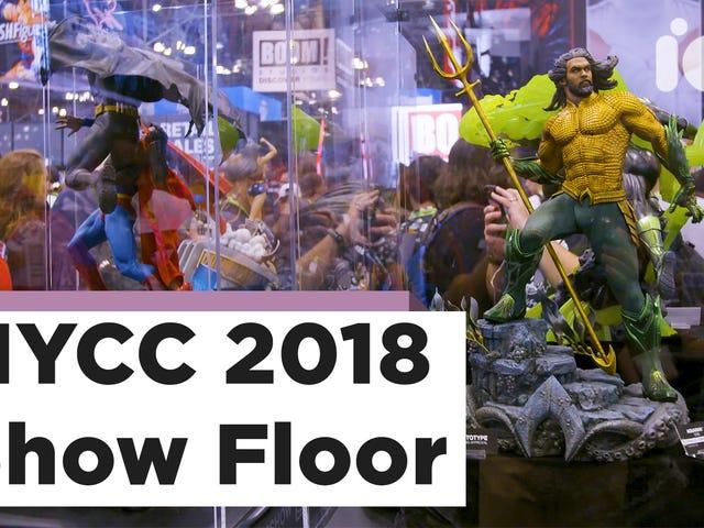 Sjekk ut io9s Video Tour av New York Comic Con