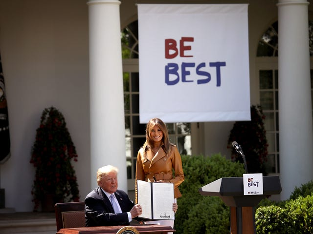 Melania Trump Just Swaggerjacked Michelle Obama, Again. This Time With Her Stupidly Named 'Be Best' Initiative