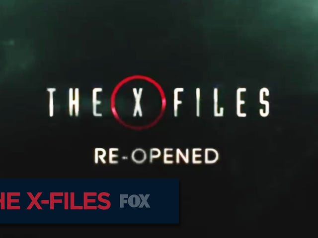 Gillian Anderson está tan entusiasmada con los nuevos X-Files como tú