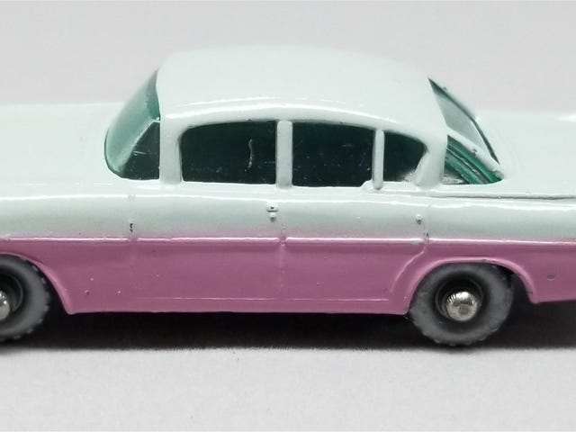 [REVIEW] Lesney Matchbox 1958 Vauxhall Cresta (another one)