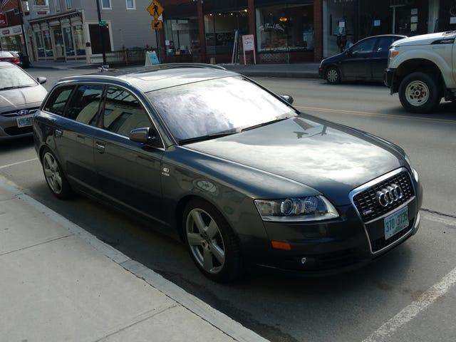 Audi Special Badging.