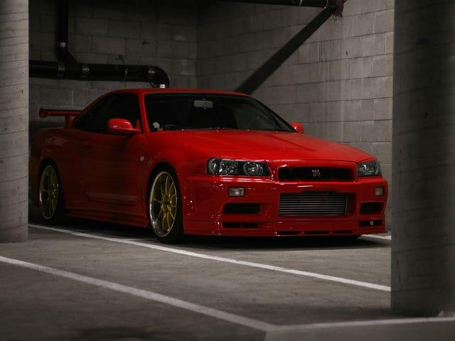 Active Red R34 GTR VSpec