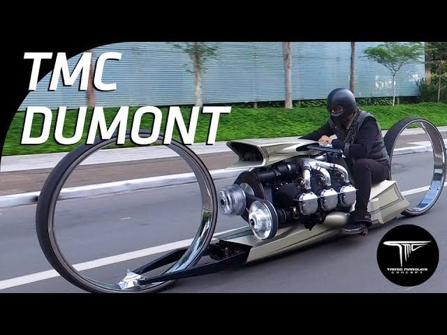 The most bonkers motorcycle since the Tomahawk