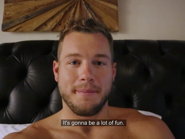 Colton Underwood Is a Virgin Who Vlogs Now