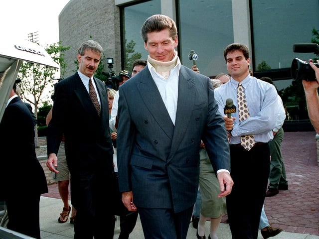 Vince McMahon's Defiant Paranoia Was Shaped By His Steroid Trial