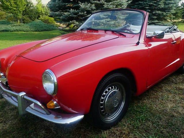 Paano Nitong Ipanumbalik ang 1969 VW Karmann Ghia Para sa $ 14,000?